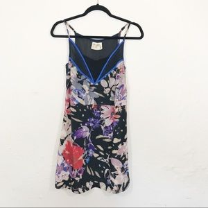Free People | Floral Slip Dress